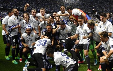 """""""Real"""" po penkerių metų pertraukos triumfavo Ispanijos pirmenybėse (VIDEO, FOTO)"""