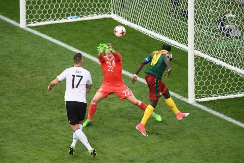 Vokiečiai nesuteikė vilčių Kamerūnui ir triumfavo B grupėje (FOTO, VIDEO)