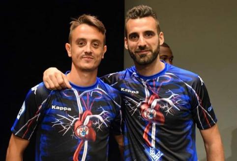 POP: Ispanijoje - žmogaus kraujotaką primenanti komandos apranga