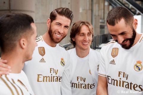 """""""Real"""" marškinėliai 2019-20 m. sezone"""