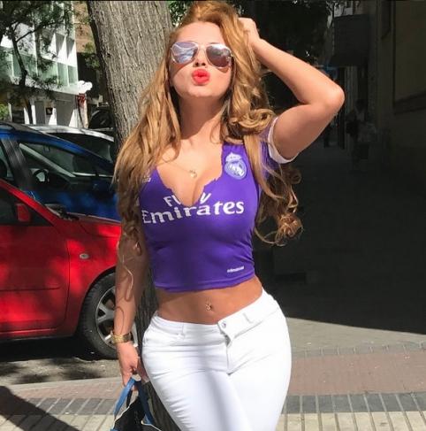 """POP: karščiausia """"Real"""" fanė iš Paragvajaus"""