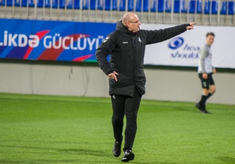 Rinktinės treniruotė Baku