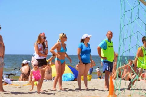 """Paplūdimio turnyre Klaipėdoje - """"Press'o"""" staigmena (FOTO)"""