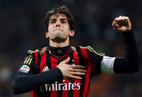 Kaka karjera Europoje baigėsi - brazilas sukirto rankomis MLS klubu