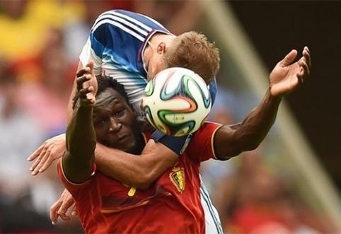 """J.Mourinho: R.Lukaku trūko motyvacijos įrodyti savo vertę """"Chelsea"""" klube"""