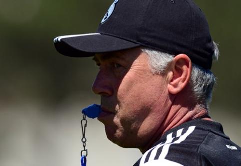 """C.Ancelotti: """"Di Maria? Jis vis dar """"Real"""" žaidėjas"""""""