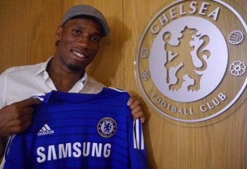 "Oficialu: D.Drogba grįžta į Londono ""Chelsea"""