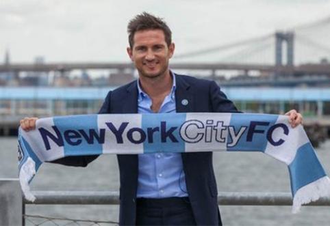 """F.Lampardas prisijungė prie """"New York City"""" klubo, L.Piazonas išnuomotas """"Eintracht"""" ekipai"""