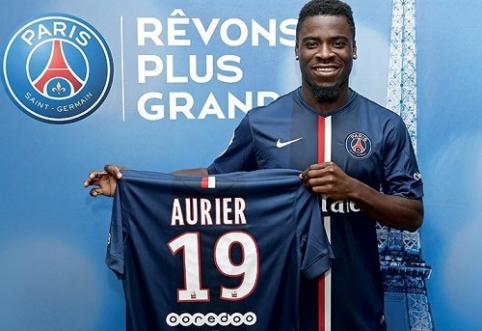 Oficialu: PSG gretas papildė S.Aurier