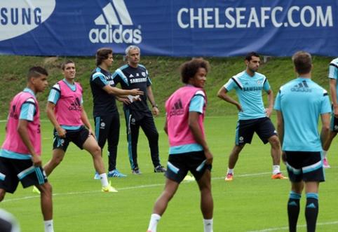 """Draugiškos rungtynės: """"Chelsea"""" neįveikė Austrijos klubo, """"Schalke"""" pelnė 11 įvarčių"""