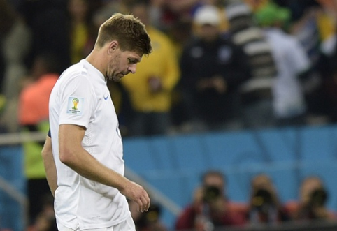 Nacionalinę rinktinę palieka dar viena legenda - anglas S.Gerrardas