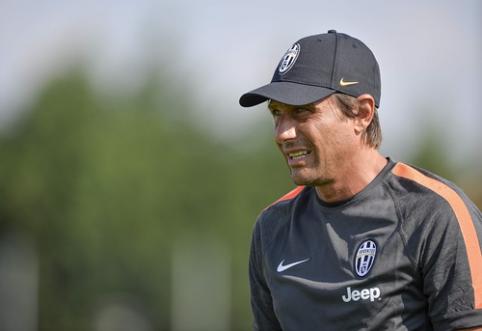 """A.Conte traukiasi iš """"Juventus"""" klubo trenerio pareigų"""
