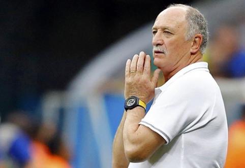 L.Scolari atleistas iš Brazilijos rinktinės trenerių pareigų