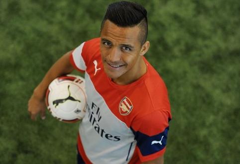 "Oficialu: A.Sanchezas - ""Arsenal"" narys"