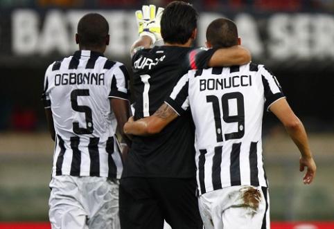"""Italijos pirmenybės startavo """"Juventus"""" ir """"Roma"""" klubų pergalėmis"""