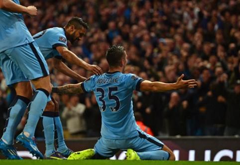 """""""Man City"""" savo tvirtovėje nubaudė """"Liverpool"""" futbolininkus (VIDEO)"""
