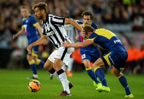 """Llorente: """"Juventus gali laimėti Čempionų lygą"""""""