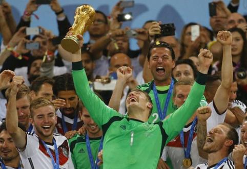 Vokietijos metų futbolininkas - M.Neueris