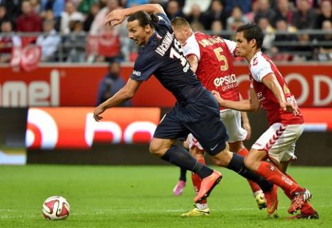 """Prancūzijos čempionai naująjį sezoną pradėjo lygiosiomis su """"Reims"""" klubu (VIDEO)"""