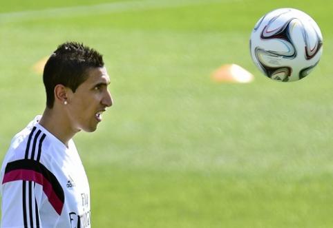 PSG klubas traukiasi iš kovos dėl A.Di Marios parašo