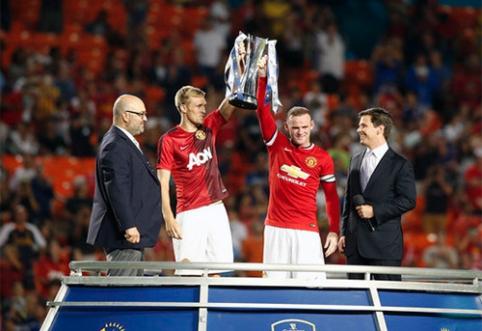 "Turnyre JAV triumfavo ""Man Utd"" komanda (VIDEO)"