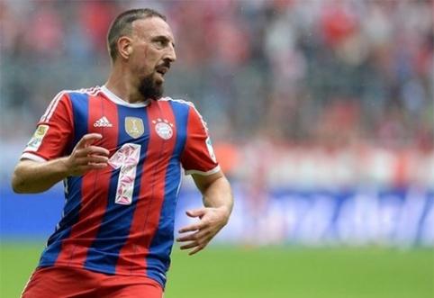 """F.Ribery """"užkniso"""" nuolat besikartojančios traumos"""