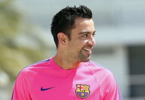 """Xavi pasiūlė savo kandidatą į """"Barcelona"""" trenerio postą"""
