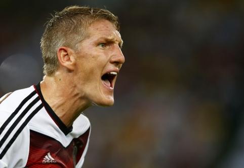 B.Schweinsteigeris paskirtas Vokietijos rinktinės kapitonu