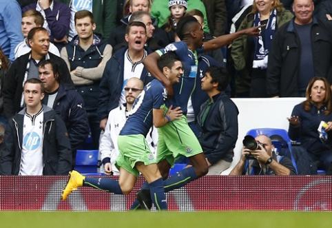 """""""Everton"""" be vargo iškovojo pergalę, """"Tottenham"""" nusileido """"Newcastle"""" ekipai"""