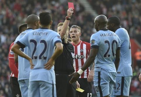 """""""Man City"""" išvykoje pranoko """"Southampton"""", """"Tottenham"""" palaužė """"Everton"""" (VIDEO)"""