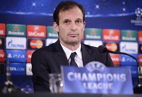 """Oficialu: """"Juventus"""" susigrąžino M. Allegri"""