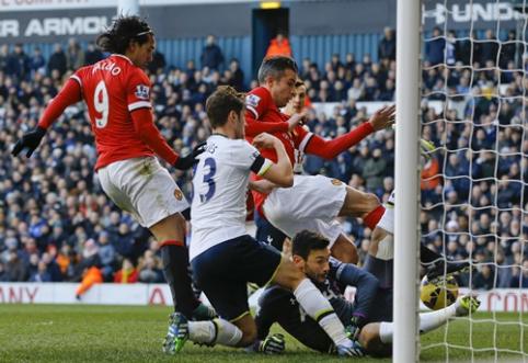 """""""Tottenham"""" ir """"Man Utd"""" futbolininkų akistata baigėsi be įvarčių (VIDEO)"""