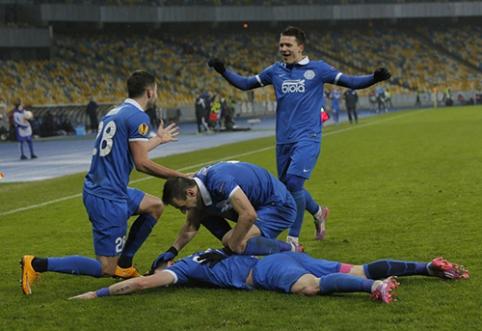 Tarp Europos lygos šešioliktfinalio dalyvių - L. Spalvio klubas, G. Arlauskio komanda pasirodymą baigė