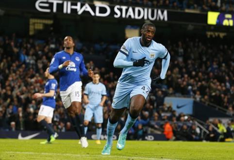"""Man City"" minimaliu rezultatu palaužė ""Everton"" (VIDEO)"