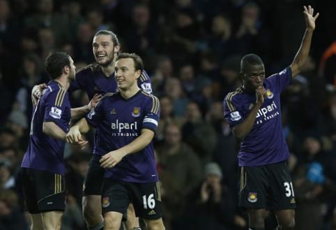 """""""West Ham"""" po baudinių serijos žengė į kitą FA taurės etapą"""