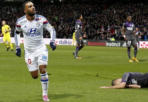 """""""Lyon"""" prezidentas: Lacazette'as yra daug geresnis už Bale'ą"""