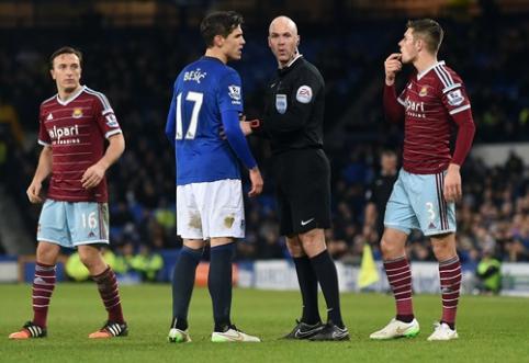 """FA taurė: R.Lukaku rungtynių pabaigoje išplėšė lygiąsias prieš """"West Ham"""""""