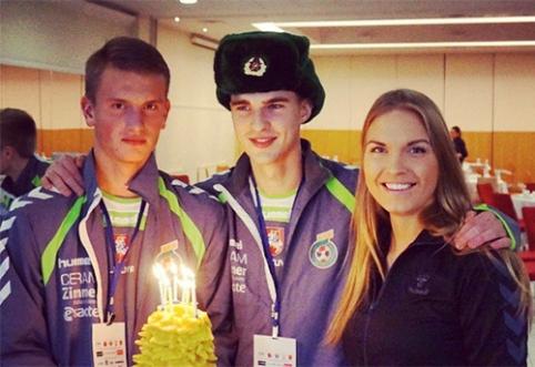 POP: Žalgirietis gimtadienį šventė su SSRS žvaigžde ant galvos