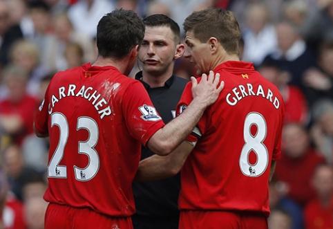 J. Carragheris: Gerrardas priėmė teisingą sprendimą
