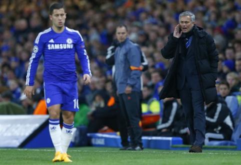 J.Mourinho: E.Hazardui gali trūkti kantrybė