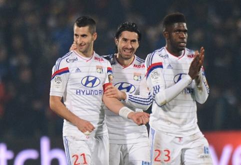 """M. Gonalons: """"Lyon"""" kuria galingą komandą"""