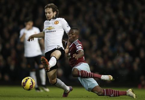 """""""Man Utd"""" rungtynių pabaigoje išplėšė lygiąsias prieš """"West Ham"""" (VIDEO)"""