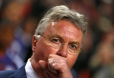 Oficialu: G. Hiddinkas baigė trenerio karjerą