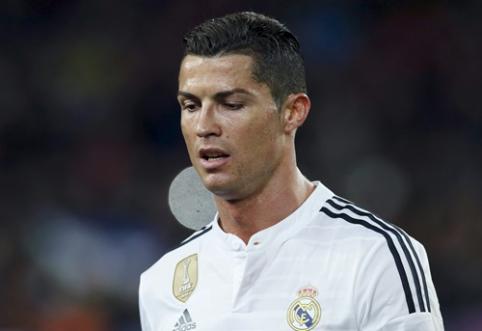 LFP nori nubausti C.Ronaldo už įvarčio šventimą Barselonoje (VIDEO)