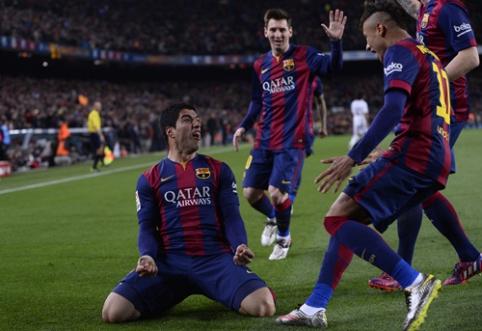 """Antrajame kėlinyje aukštesnę pavarą įjungusi """"Barca"""" palaužė Madrido """"Real"""" ekipą (VIDEO)"""
