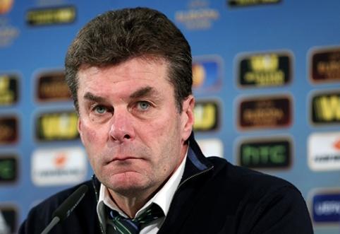 """D.Heckingas džiaugėsi """"Wolfsburg"""" pasirodymu prieš """"Inter"""""""