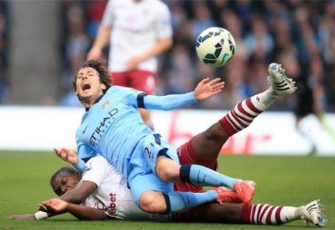 """""""Man City"""" išplėšė pergalę, """"Liverpool"""" neįveikė """"West Brom"""" (VIDEO)"""
