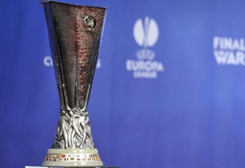 """Europos lygos pusfinalyje """"Napoli"""" kausis prieš """"Dnipro"""", """"Sevilla"""" - prieš """"Fiorentina"""""""