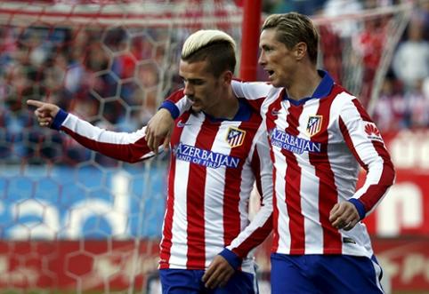 D. Simeone: Torresas padeda spindėti Griezmannui