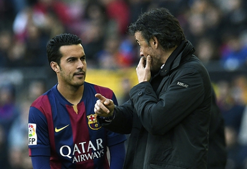 """Pedro: kalbos apie išvykimą iš """"Barcos"""" yra logiškos"""